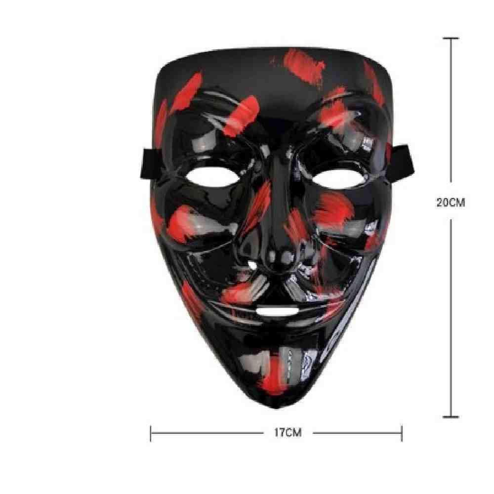 PIYTNK Máscara de Halloween Luz LED Máscaras Divertidas El año de ...