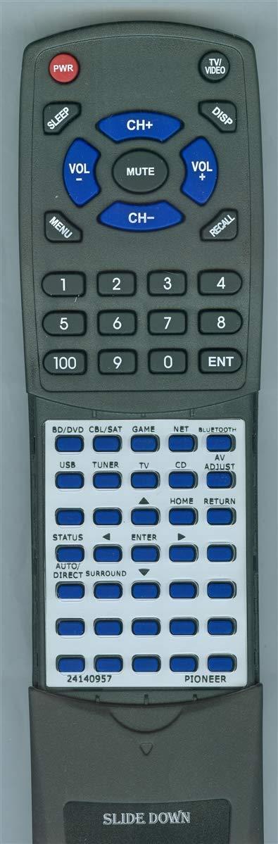 パイオニア RC-957R、VSX-LX102、VSX-LX302用交換リモート。   B07HBF1D9B