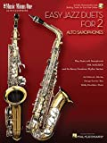 img - for Easy Jazz Duets for 2 Alto Saxophones and Rhythm Section: Music Minus One Alto Saxophone Bk/Online Audio book / textbook / text book