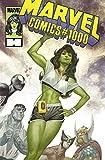 img - for Marvel Comics #1000 Julian Totino Tedesco She-Hulk 1980s Decade Variant book / textbook / text book