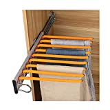 LUANT Closet Pants Hanger Bar Clothes Organizers for Space Saving and Storage,18'' x 12-1/2