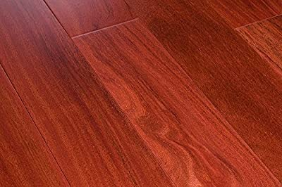 "28.36SF AMERIQUE Prefinished Engineered Exotic Rosewood Hardwood Flooring 5"" X 9/16"" X RL, with 3MM Top Layer, Single Plank, 28.36sf/ctn (One Carton)"