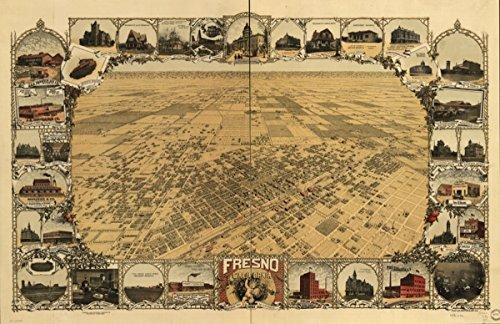 Map: 1901 Fresno, California - Shops In Fresno Dress