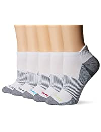 Copper Fit womens 5pk Length Socks With Ankle Guard Socks