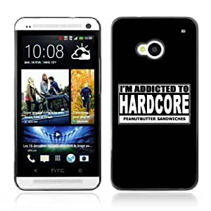 Designer Depo Hard Protection Case for HTC One M7 / Hardcore Sign