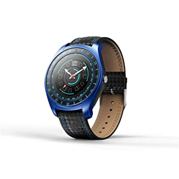 ZLOPV Pulsera Activa Bluetooth Smart Watch con cámara de Reloj de ...