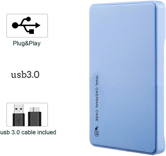 HDDウルトラスリムポータブル外付けハードドライブ、PC、デスクトップ、ラップトップ、Xboxの一つは、Xbox 360、PS4用USB3.0ストレージ互換性のあるハードドライブ,2,2TB