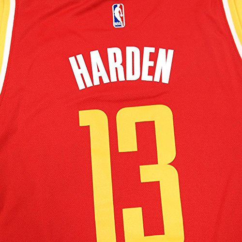 new arrival a783a c7ed3 adidas James Harden Houston Rockets NBA Women's Red Replica Jersey (2XL)