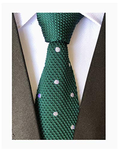 Secdtie Mens Deep Green Novelty Smart Casual 2