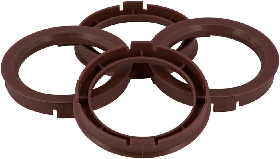 TPI BX6916760-4 Zentrierring-Set f/ür 69,1/-/67,6/mm Naben Kaffeebraun