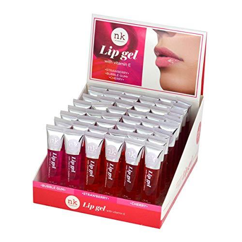 Nicka K Lip Gel with Vitamin E 12 piece ()
