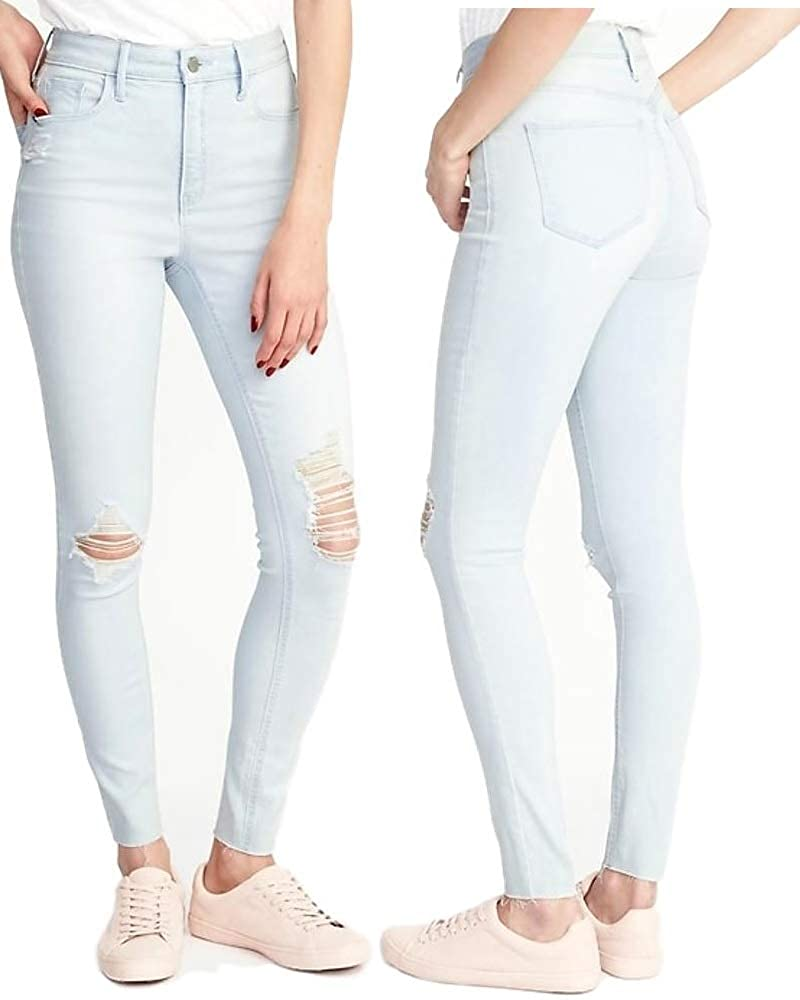 c664734b9a1 High-Rise Secret-Slim Pockets Rockstar Ankle Jeans for Teens & Women at  Amazon Women's Clothing store: