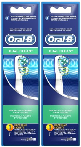 Oral Dual Clean Replacement Brush