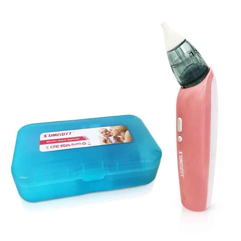 Aspirador nasal SUMGOTT Limpiador de nariz eléctrico para bebés - 3 ...