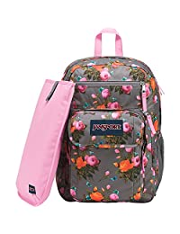JanSport Digital Estudiante Mochila para portátil, Sunrise Bouquet Grey, Una Talla
