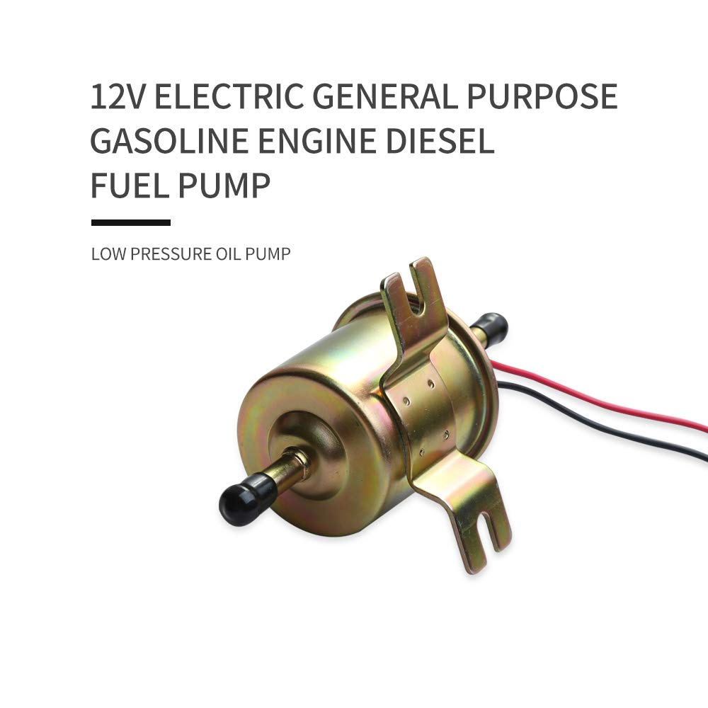 marina generatori. moto industriale Pompa carburante universale 12 V 1,2 A a bassa pressione diesel benzina elettrica per motori dotati di carburatori su auto piante