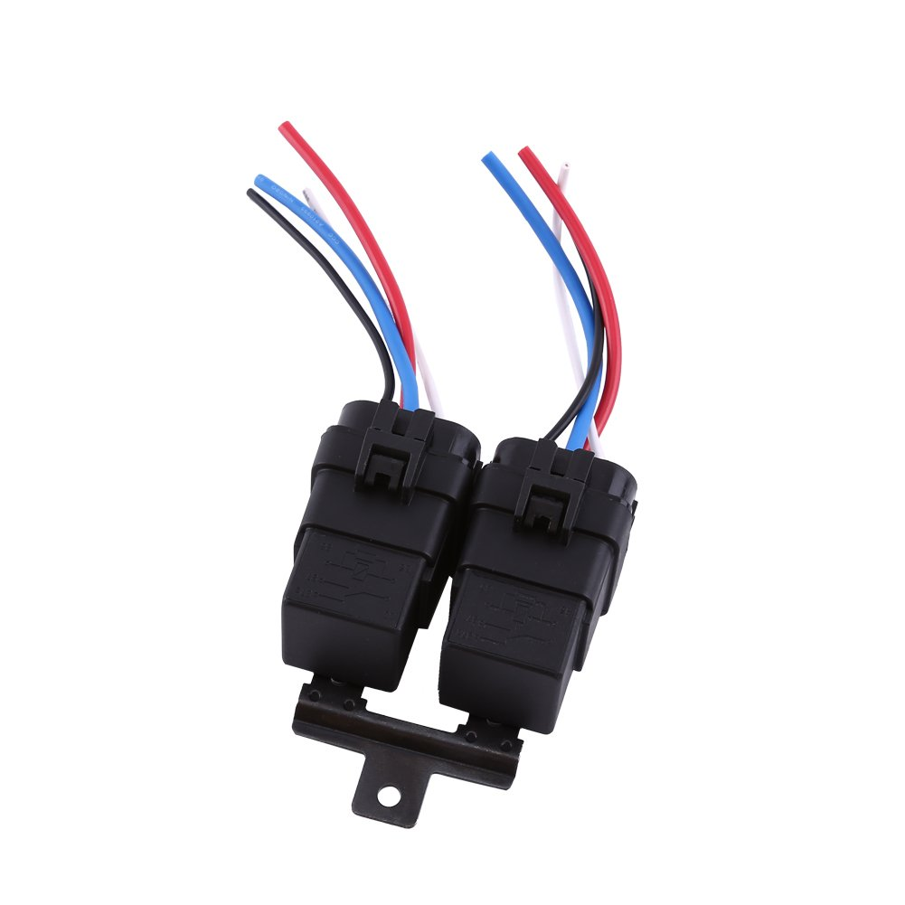 Dc Relay 12v 4 Pin Automotive 40a Waterproof Lucas 5
