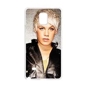 pink singer Samsung Galaxy Note 4 Cell Phone Case White Customized Items zhz9ke_7309789