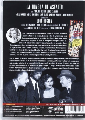 The Asphalt Jungle (La Jungla de Asfalto)