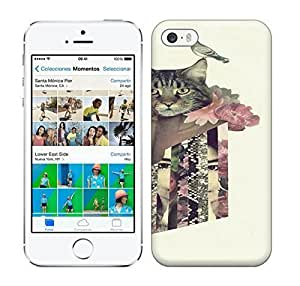 Best Power(Tm) HD Colorful Painted Watercolor The Man With A Head Cat Express Mysterious World Hard For SamSung Galaxy S4 Phone Case Cover