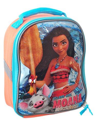 Moana Lunch Box Soft Kit Insulated Cooler Bag Disney Island Girl