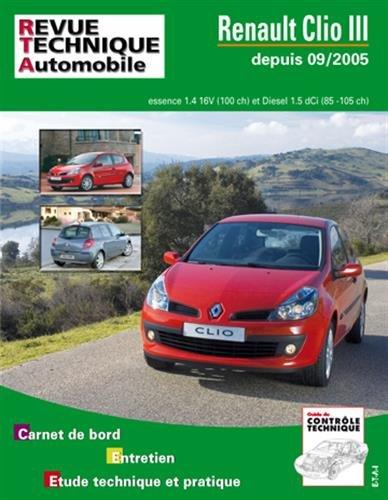 Renault Clio III 1,4V 16 V + 1,5 DCI 85/105