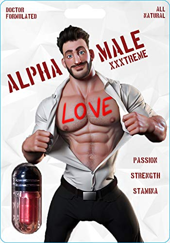 AlphaBoost - Male Enhancing Pills - Enlargement Booster for Men - Increase Size, Strength, Stamina - Energy, Mood, Endurance Boost - All Natural Performance Supplement - Made in USA (Black Storm Pills For Men)