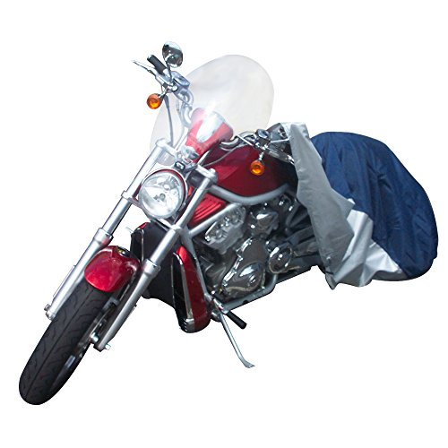 Budge Sportsman Motorcycle Cover Waterproof Fits Motorcycles up to 96