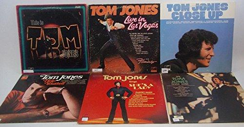Tom Jones Lot of 6 Vinyl Record Albums Fever Zone and more (Tom Jones The Tom Jones Fever Zone)