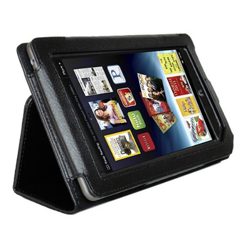 (Tablet Case Cover,AGPTEK Slim Folio Stand Leather Protector for Nook Color 7