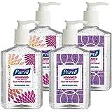 Purell 9652-04-ECDECO Advanced  Design Series Hand Sanitizer, 8 oz Bottles (Pack of 4)