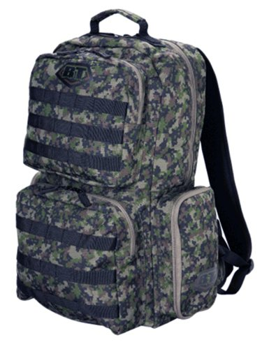 BT Paintball Patrol Backpack Woodland Digi Camo w/ molle