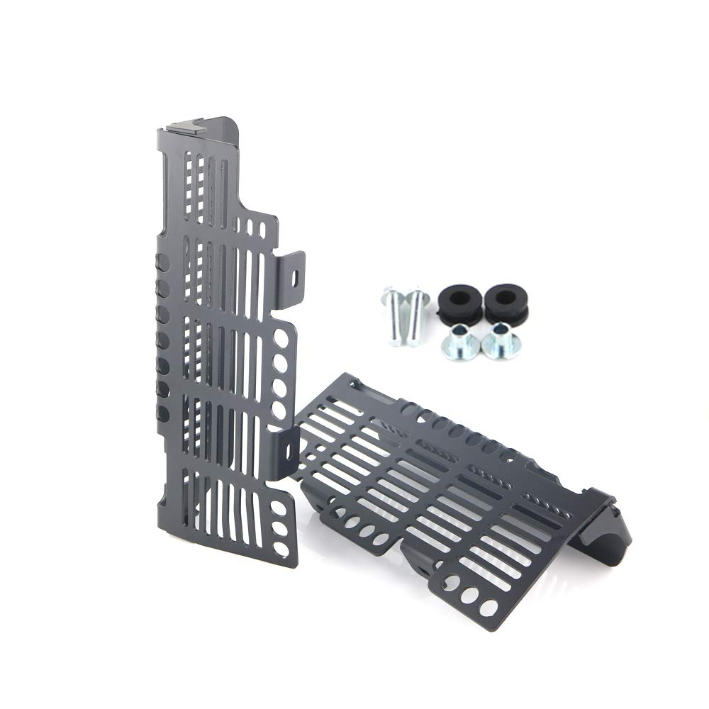 Radiator Grille Cover//Protector for SUZUKI DRZ400// DR-Z400E// DR-Z400S// DR-Z400SM Black Aluminum Radiator Guards