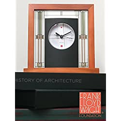 Bulova Willits Frank Lloyd Wright Collection Table Clock