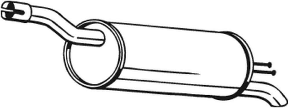 Bosal 148-351 Endschalld/ämpfer
