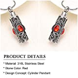 constantlife Cremation Jewelry for Ashes Crystal