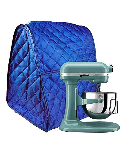 Hoocozi Stand Mixer Cover Dust-proof Waterproof Universal Cover Fit for All the Kitchenaid Mixer, Organizer Bag Included (Blue) (Blue Cover Mixer Kitchenaid)