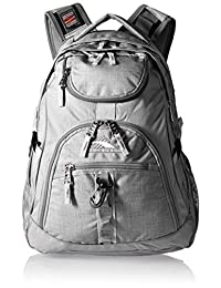 High Sierra 53671-4956 Access Backpack, Grey/Ash/Silver, International Carry-On