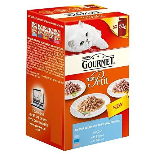 Gourmet Mon Petit Ocean Mixed Variety Pack 6 x 50g (PACK OF 6)