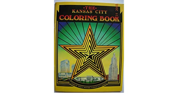 The Kansas City Coloring Book A Tour Of Thirty Historic Places Ginny Graves Amazon Books