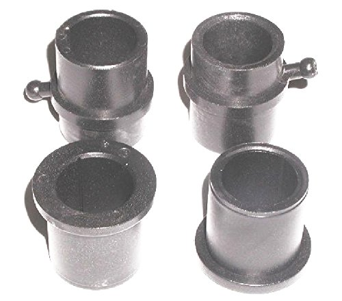 4PK Of Wheel Bushing Compatible with MTD 741-0990 And 941-0516You Get (2) 741-0990 & (2) - Bushing Wheel Flange