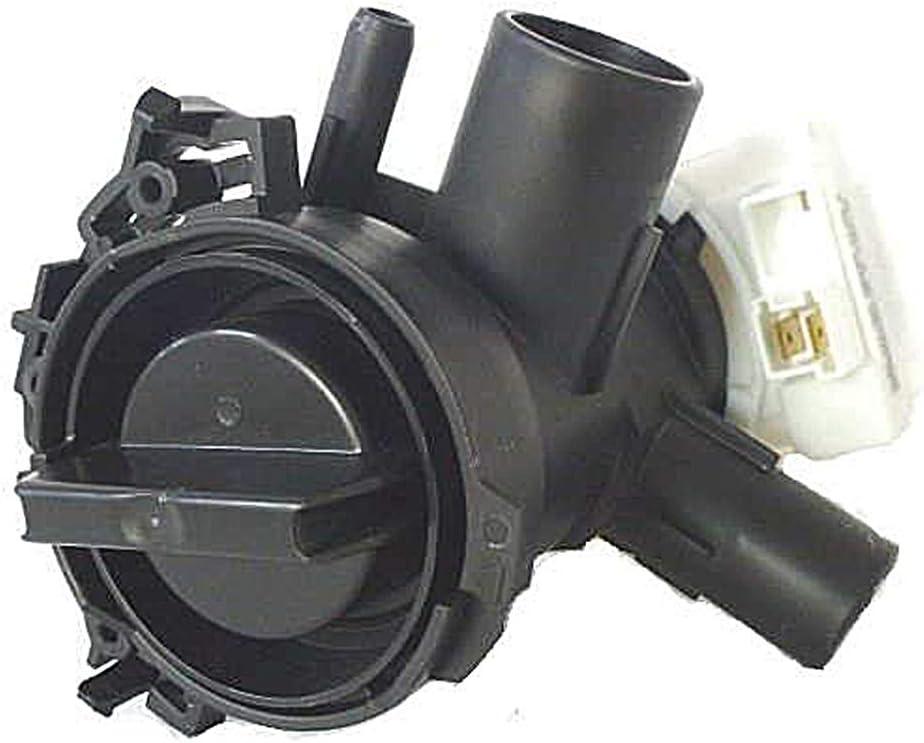 SpareHome® - Bomba de desagüe para lavadoras Bosch, Siemens y Balay