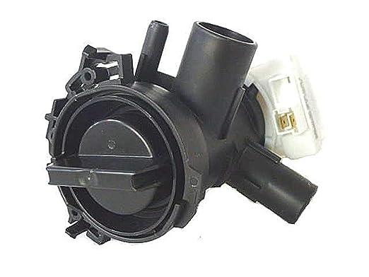 SpareHome® - Bomba de desagüe para lavadoras Bosch, Siemens y ...