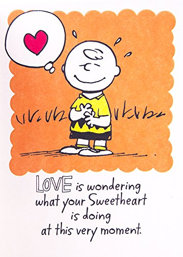 Hallmark Anniversary Greeting Card (Peanuts Vignette) Photo #4