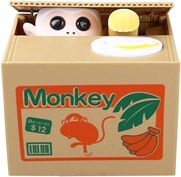 Rubinetto Coin Mouse Box English Speaking Monkey Grande Regalo per Ogni Bambino Mouse Mouse Piggy Bank