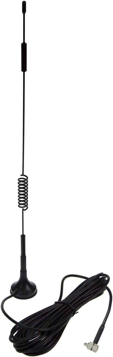 Antena CRC9, 4G LTE Antenna Dual 12dBi Alto Ganancia Red Ethernet Al Aire Libre Antena Receptor Amplificador Booster para WiFi Router Banda Ancha ...