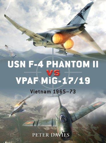 USN F-4 Phantom II vs VPAF MiG-17/19: Vietnam 1965–73 for sale  Delivered anywhere in USA
