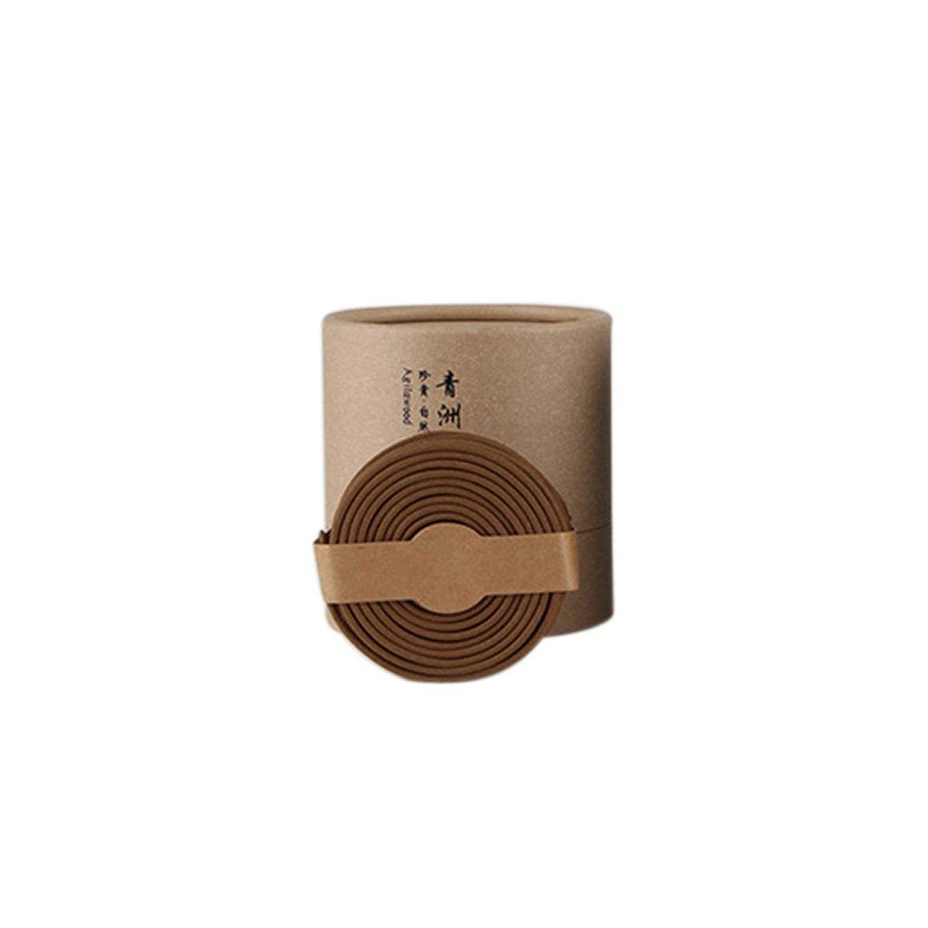 Blesiya 48pcs/Box Coil Incenses Home Office Hotel Room Toilet Fragrance Odor Removal - Agarwood
