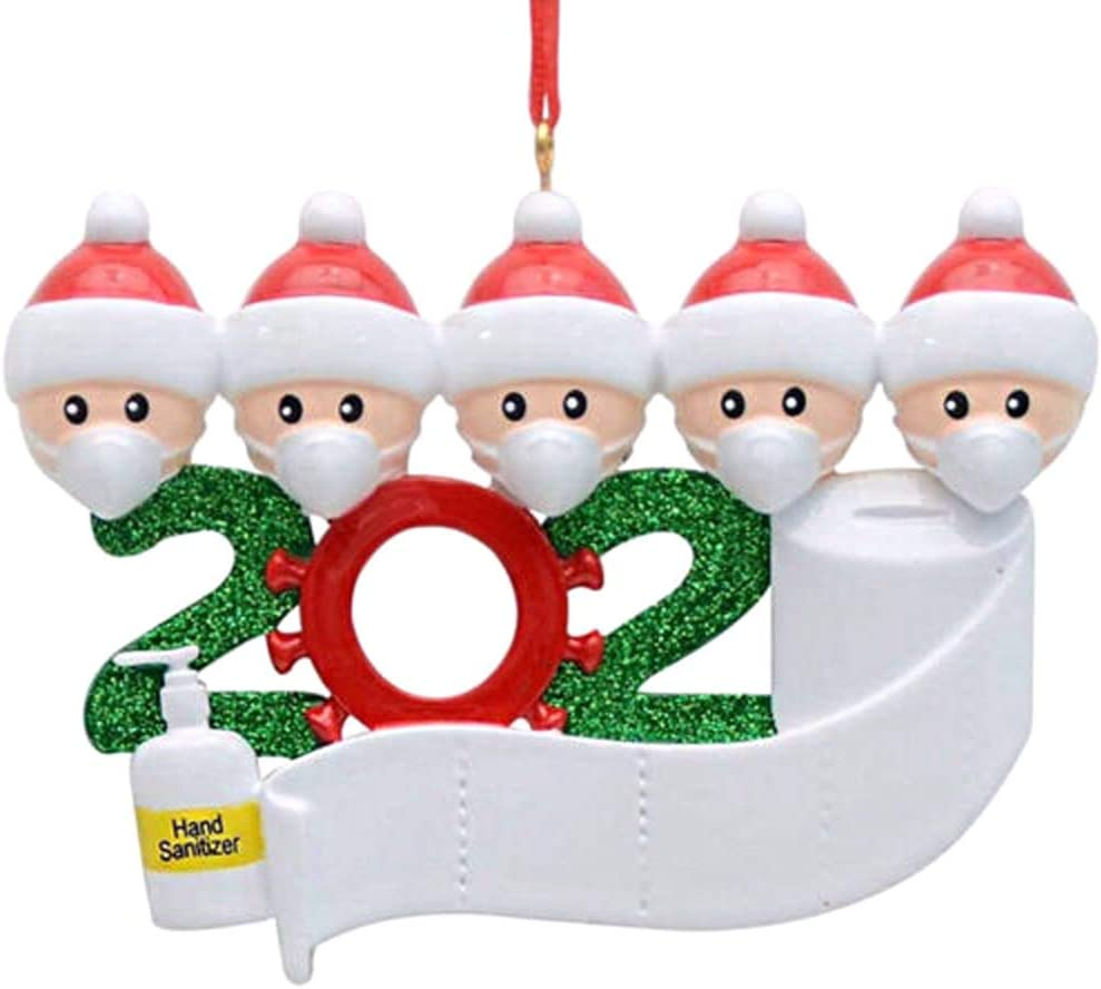 Decdeal Christmas Tree Decoration 2020 (options for Families of 2-5) WAS £9.99 NOW £4.99 w/code PFQIA4S7 @ Amazon