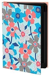Keka SLP35-NS4-IPH4 - Funda tipo libro para iPhone 4/4s, diseño floral de Nina Seven